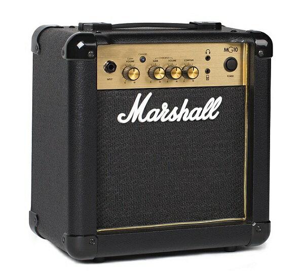 【限定Marshallピック2枚付】【送料込】Marshall マーシャル MG10 Gold 正規輸入品【smtb-TK】