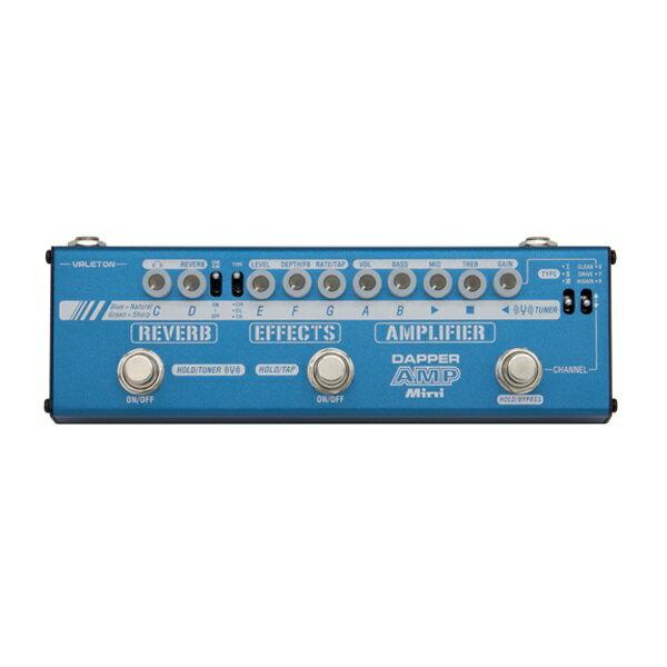 【ポイント5倍】【送料込】VALETON MES-6 Dapper Amp Mini マルチエフェクター【smtb-TK】