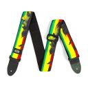 【メール便・送料無料・代引不可】DUNLOP ダンロップBOB09 Profile Bob Marley ボブ・マーリー ギターストラップ【smt…