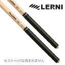 【ポイント5倍】【メール便・送料無料・代引不可】LERNI レルニ GT-BLA BLACK ドラムスティック用 グリップテープ 4枚…