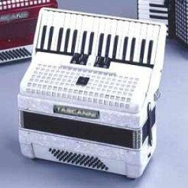 【送料込】TASCANNI タスカーニ STANDARD-60 WHITE 34鍵/60ベース アコーディオン 【smtb-TK】