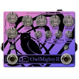 【ポイント10倍】【送料込】Vivie ヴィヴィ Owl MightyII ベース用 プリアンプ / オーバードライブ 【smtb-TK】
