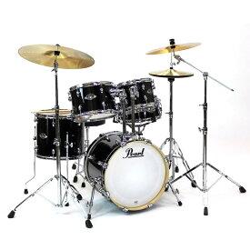 【送料込】Pearl パール EXX785/C No.31/ジェットブラック 小口径ドラムセット【smtb-TK】