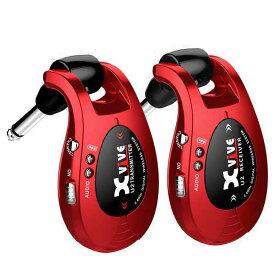 【ポイント10倍】【送料込】【限定モデル】Xvive エックスバイブ XV-U2/Red 2.4GHz デジタルワイヤレス・システム 【smtb-TK】