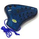 【送料込】TNG Pla03-AC-Blue プラスチック トリプル オカリナ AC ブルー【smtb-TK】