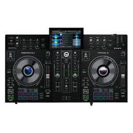 【送料込】Denon DJ PRIME2 / 7インチ・タッチスクリーン搭載 2デッキ・スマートDJコンソール【smtb-TK】