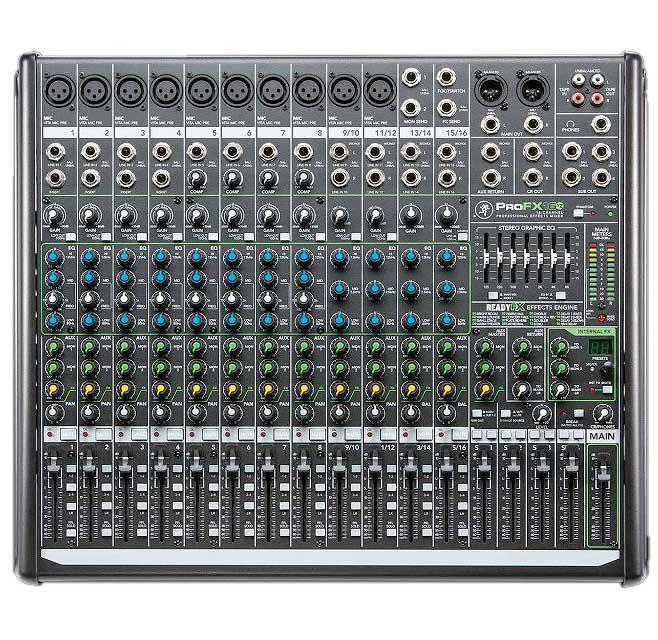 【送料込】MACKIE/マッキー ProFX16v2 16ch プロフェッショナルエフェクトミキサー【smtb-TK】