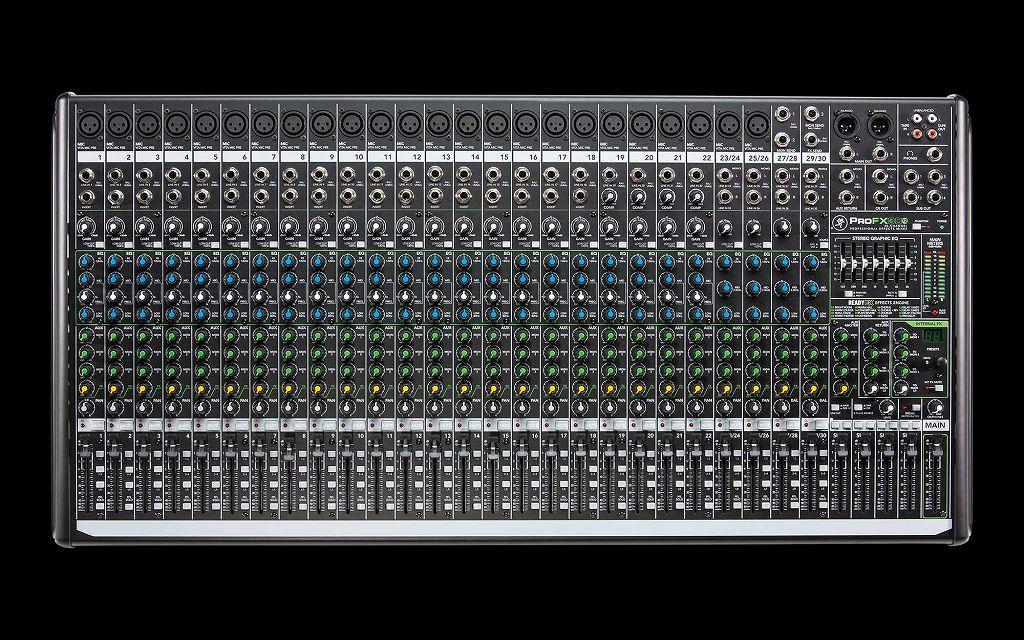 【送料込】MACKIE/マッキー ProFX30v2 30ch プロフェッショナルエフェクトミキサー【smtb-TK】