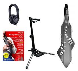 【ポイント5倍】【送料込】【スタンド+純正ヘッドホン+エアロフォンGO ソング&ガイドブック for Beginners付】Roland Aerophone GO AE-05 Digital Wind Instrument【smtb-TK】