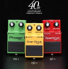 【送料込】BOSS ボス BOX-40 Compact Pedal 40th Anniversary Box Set OD-1 PH-1 SP-1 限定復刻ボックス・セット【smtb-TK】