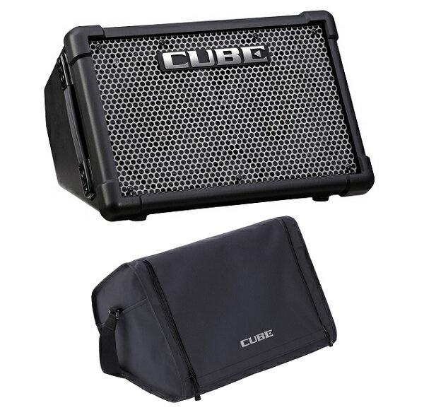 【ポイント10倍】【送料込】【純正キャリングバッグCB-CS2付】Roland/ローランド CUBE Street EX Battery Powered Stereo Amplifier【smtb-TK】
