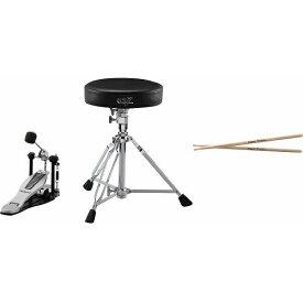 【ポイント10倍】【送料込】Roland ローランド DAP-3X V-Drums用ペダル、スティック、イスセット【smtb-TK】