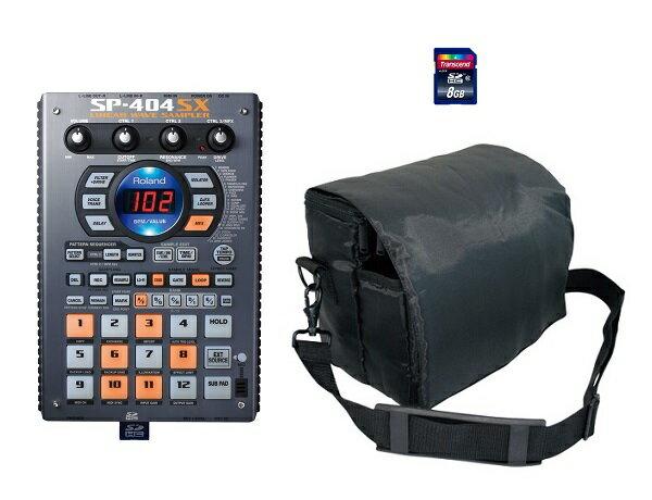 【ポイント4倍】【送料込】【汎用ソフトケース+SDHCカード/8GB付】Roland/ローランド SP-404SX サンプラー【smtb-TK】