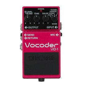 【ポイント10倍】【送料込】BOSS ボス VO-1 Vocoder ボコーダー ギターとベースに新たな表現力を【smtb-TK】