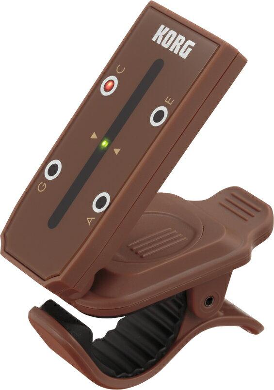 【メール便・送料無料・代引不可】KORG/コルグ HT-U1 headtune ヘッドチューン ウクレレ用 ヘッド型をモチーフにしたユニークなデザインのクリップ式チューナー【smtb-TK】