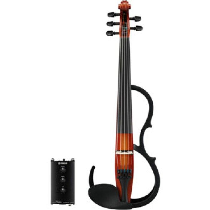 【送料込】ヤマハYAMAHASV255BR(ブラウン)サイレントバイオリン【smtb-TK】