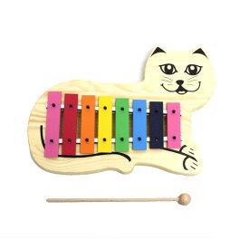 【送料込】SONOR ソナー SN-KGC キャット・グロッケン 8音[C-C] バチ1本付 鉄琴 オルフ楽器【smtb-TK】