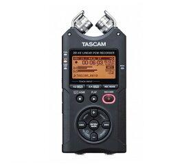 【送料込】TASCAM タスカム DR-40 VER2-J 日本語メニュー表示 リニアPCMレコーダー 選んで使えるプロの音質【smtb-TK】