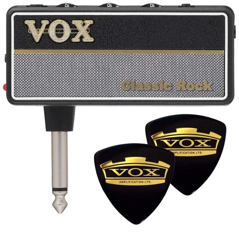 【メール便・送料無料・代引不可】【限定VOXピック2枚付】VOX/ヴォックス amPlug2 Classic Rock AP2-CR UK製100Wの定番ハイゲイン・サウンド アンプラグ ヘッドホンギターアンプ【smtb-TK】
