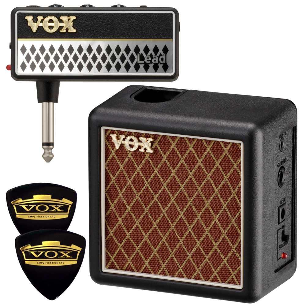 【送料込】【限定VOXピック2枚付】VOX ヴォックス AP2-LD + AP2-CAB amPlug2 Lead + 専用キャビネット/ミニアンプ【smtb-TK】