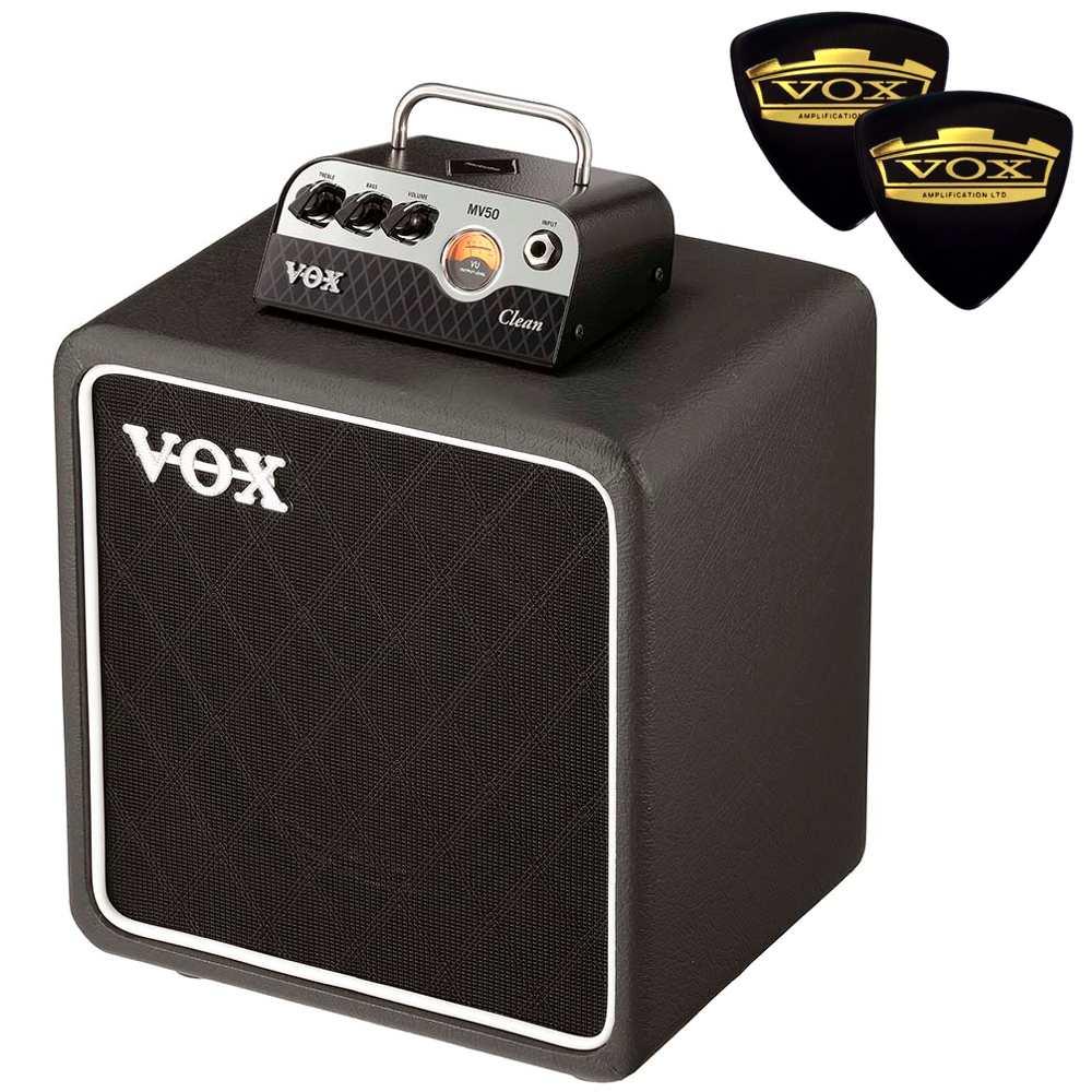【送料込】【限定VOXピック2枚付】VOX ヴォックス MV50-CL / Clean + BC108 新真空管 Nutube 搭載 アンプ・ヘッド + キャビネット【smtb-TK】