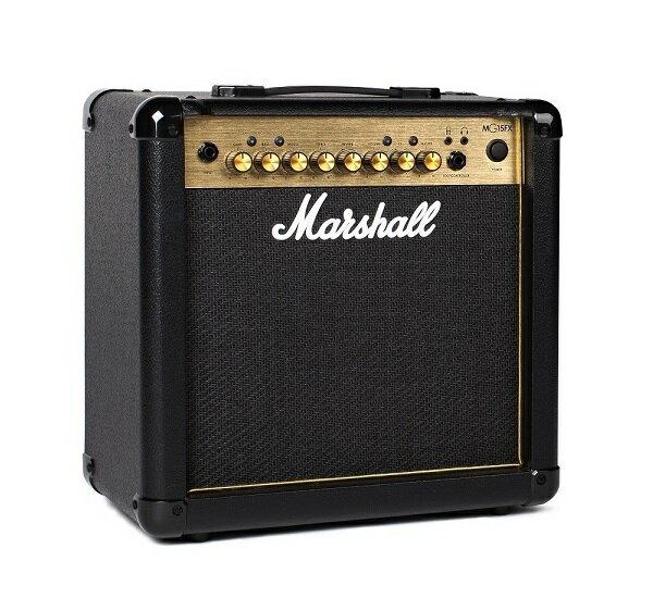 【ポイント6倍】【限定Marshallピック2枚付】【送料込】Marshall マーシャル MG15FX Gold 正規輸入品【smtb-TK】