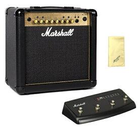 【限定Marshallピック2枚付】【送料込】【愛曲クロス付】【フットスイッチ/PEDL90008付】Marshall マーシャル MG15FX Gold 正規輸入品【smtb-TK】