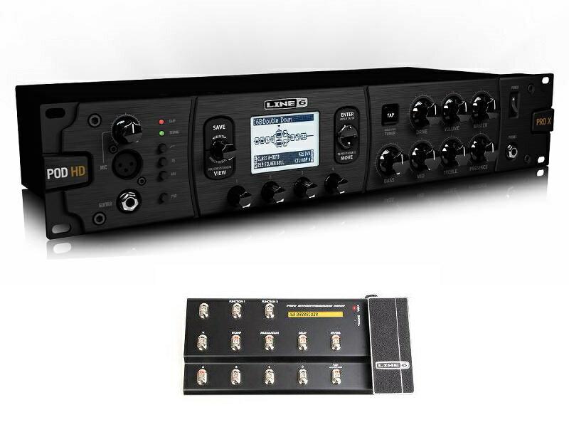 【送料込】【FBV Shortboard MKII付】LINE6/ラインシックス POD HD Pro X ラックマウント マルチエフェクター/アンプモデラー【smtb-TK】