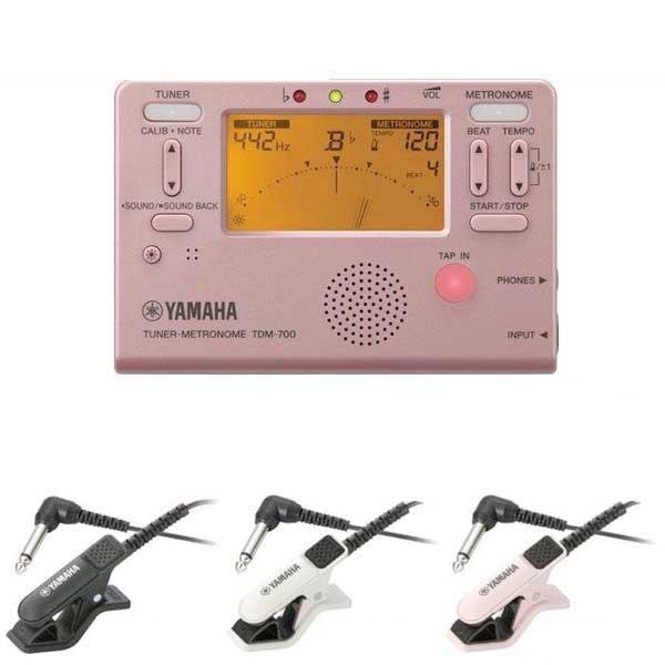 【メール便・送料無料・代引不可】YAMAHA ヤマハ TDM-700P ピンク + TM-30 チューナー/メトロノーム【smtb-TK】