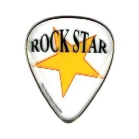 【メール便・送料無料・代引不可】Rick Rock ZBS-004 Rock Star エポキシ樹脂製 ギター ピック 2.3mm【smtb-TK】