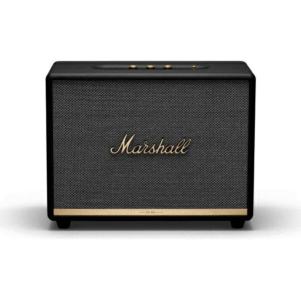 【ポイント10倍】【送料込】【国内正規品】Marshall マーシャル ZMS-1001904 Woburn II Bluetooth Black Bluetooth5.0 搭載 コンパクト オーディオ スピーカー 【smtb-TK】