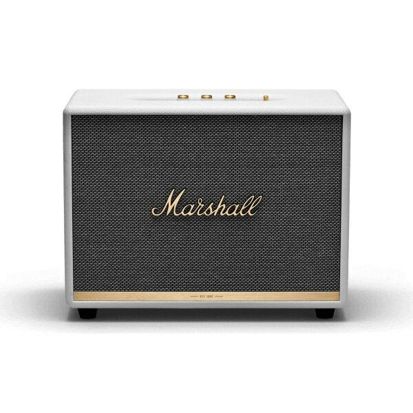 【ポイント10倍】【送料込】【国内正規品】Marshall マーシャル ZMS-1001905 Woburn II Bluetooth White Bluetooth5.0 搭載 コンパクト オーディオ スピーカー 【smtb-TK】
