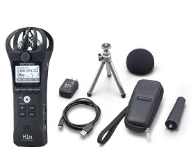 【送料込】【アクセサリパッケージ/APH-1n付】ZOOM ズーム H1n シンプル操作の高音質レコーダー【smtb-TK】