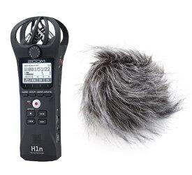 【送料込】【ユニバーサルウィンドスクリーン/WSU-1付】ZOOM ズーム H1n シンプル操作の高音質レコーダー【smtb-TK】