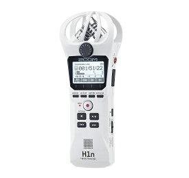 【ポイント4倍】【送料込】ZOOM ズーム H1n/W ホワイト シンプル操作の高音質レコーダー【smtb-TK】