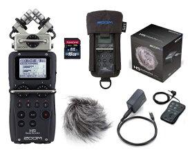【送料込】【アクセサリーパック/APH-5+専用ケース/PCH-5+SDHCカード/16GB付】ZOOM ズーム H5 ハンディーレコーダー【smtb-TK】