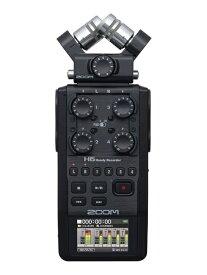 【ポイント2倍】【送料込】ZOOM ズーム H6/BLK ポータブルレコーダー【smtb-TK】