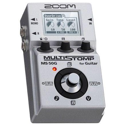 【ポイント10倍】【限定ZOOMピック2枚付】【送料込】ZOOM ズーム MULTI STOMP MS-50G for Guitar 驚異のマルチ・ストンプ【smtb-TK】