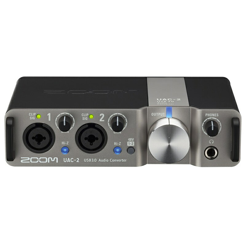 【ポイント3倍】【送料込】ZOOM/ズーム UAC-2 2イン/2アウト、USB3.0 SuperSpeed規格のオーディオ・インターフェース【smtb-TK】