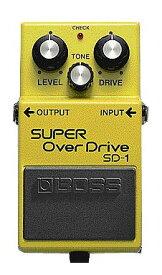 【ポイント8倍】【送料込】BOSS SD-1/SUPER OverDrive ボス コンパクト・エフェクター スーパー・オーバードライブ【smtb-TK】
