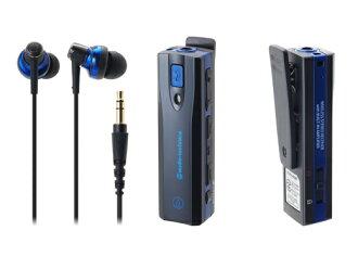 audio-technica/铁三角ATH-BT05 BL耳机放大器内置无线立体声头戴式受话器