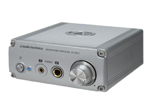 【ポイント10倍】【送料込】audio-technica/オーディオテクニカ AT-HA21 ヘッドホンアンプ【smtb-TK】