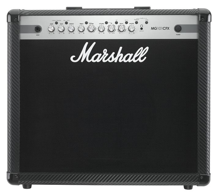 【限定Marshallピック2枚付】【ポイント10倍】【送料込】Marshall/マーシャル MG101CFX /MG CF(カーボン・ファイバー)シリーズ【smtb-TK】