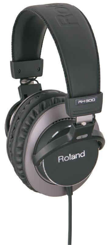 【ポイント10倍】【送料込】Roland/ローランド RH-300 Stereo Headphones 密閉式ヘッドホン【smtb-TK】