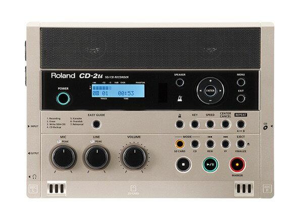【ポイント10倍】【送料込】Roland/ローランド CD-2u SD/CD Recorder SD/CDレコーダー【smtb-TK】
