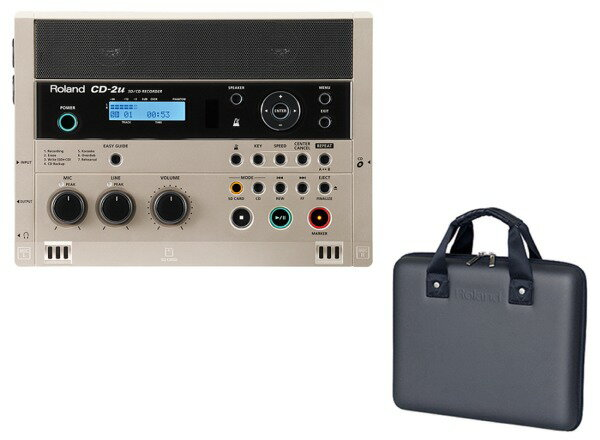 【ポイント10倍】【送料込】【専用ケース/CB-CD2E付】Roland/ローランド CD-2u SD/CD Recorder SD/CDレコーダー【smtb-TK】