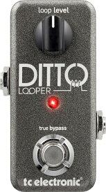 【ポイント2倍】【送料込】tc electronic/t.c.electronic Ditto Looper ディトー・ルーパー ギタリスト用にデザインされたルーパー・ペダル【smtb-TK】