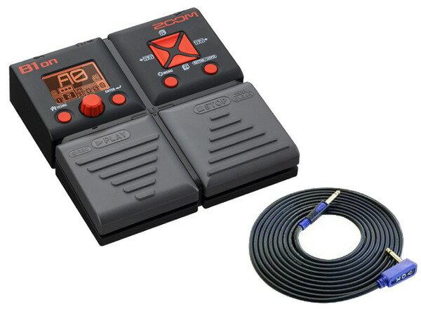 【限定ZOOMピック2枚付】【送料込】【VOX3mシールド付】ZOOM/ズーム B1on エフェクト、機能、サウンド、すべてが驚異的/ギグバッグのポケットに【smtb-TK】