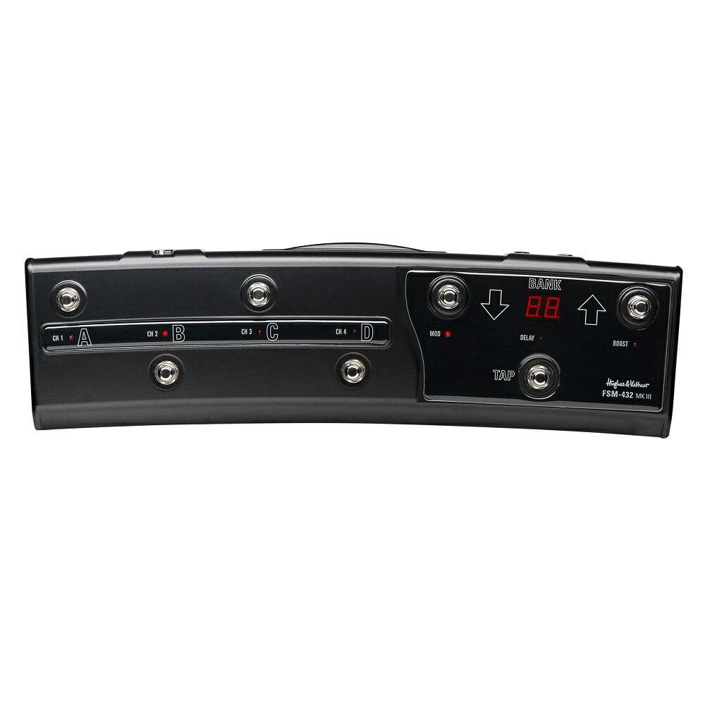 【ポイント2倍】【送料込】Hughes&Kettner/ヒュース&ケトナー FSM432 MKIII MIDI BOARD フットボード(HUK-FSM432/3)【smtb-TK】