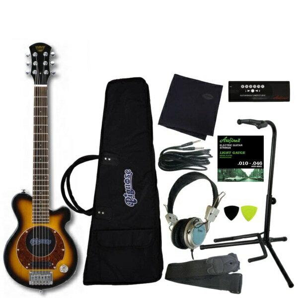 【送料込】【豪華10点セット】Pignose/ピグノーズ PGG-200 BS アンプ内蔵ギター【smtb-TK】